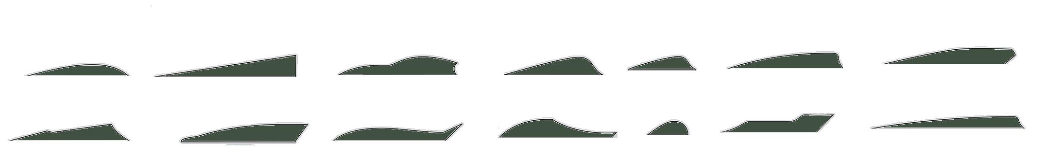federformen